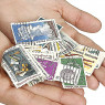 collect stamps